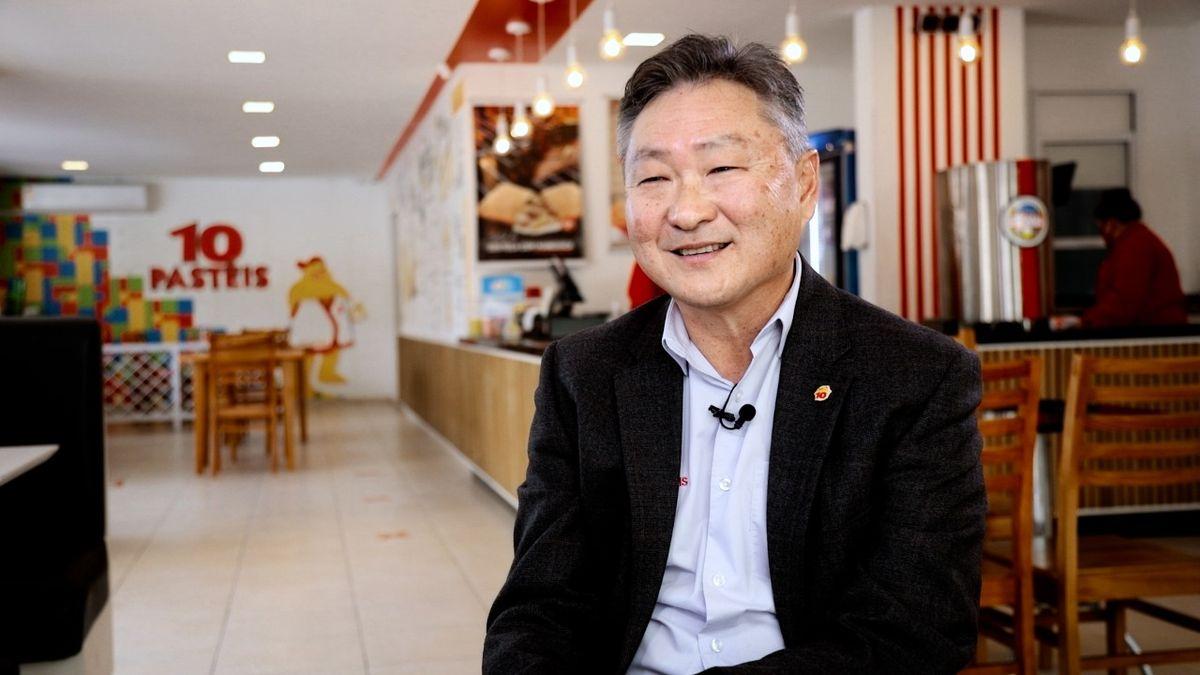 Marcos Nagano: fundador da 10 Pastéis