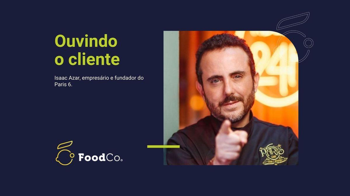Parte 6 - Arena FoodCo. com Isaac Azar