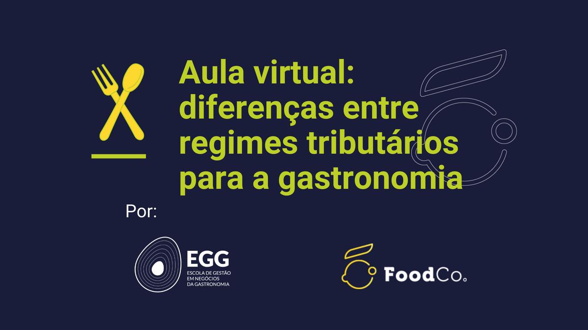 Diferenças entre regimes tributários para a gastronomia